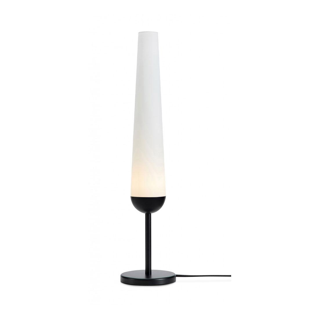 Markslöjd Bern Bordlampe 63cm Svart/Hvit
