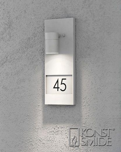 Konstsmide Modena Grå Husnummer