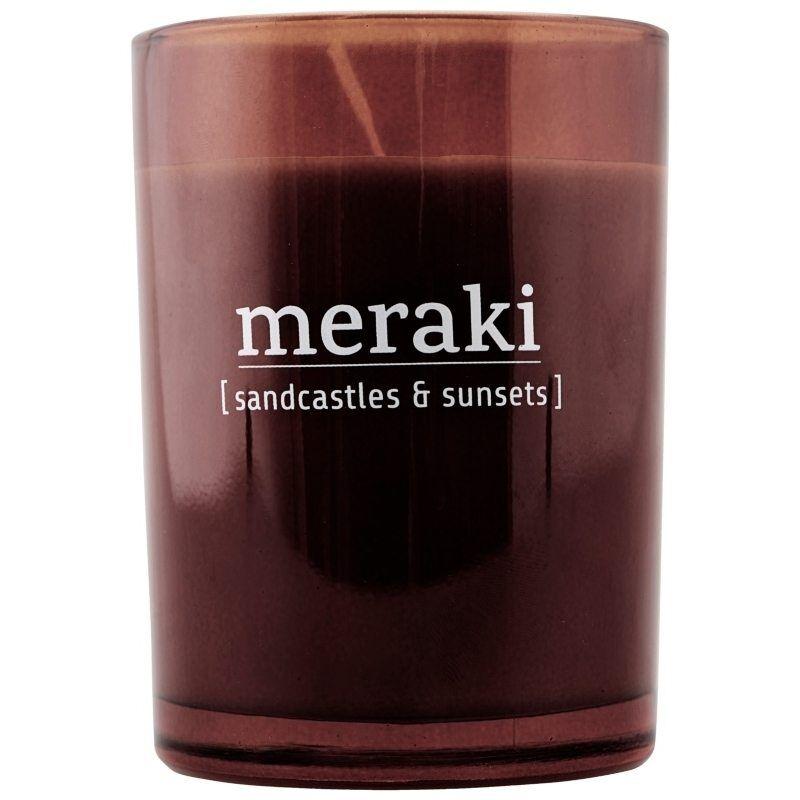 Meraki Scented Candle 5,5 x 6,7 cm - Sandcastles & Sunsets