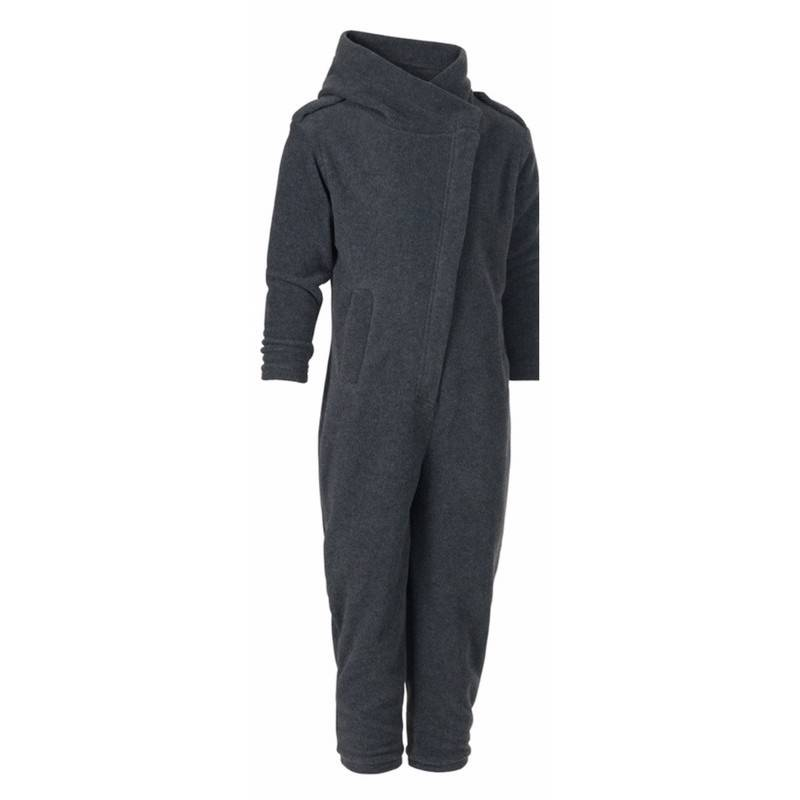 Karmameju Fleece Pantsuit Mini Makalu Grey 1-2 Yrs (U)
