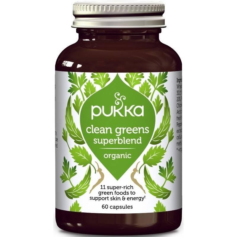 Pukka Clean Greens Capsules 60 stk.