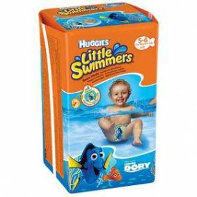 Huggies Little Swimmers svømmebleie (12-18 kg) - 11 stk