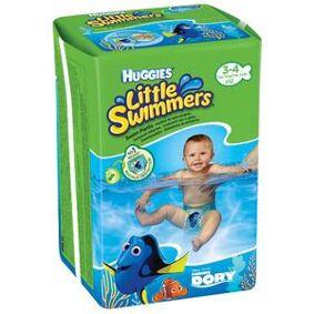 Huggies Little Swimmers svømmebleie (7-15 kg) - 11 stk