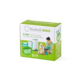 Korbell Mini bleiebøtte Refill - 3 stk
