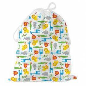 ImseVimse Wet Bag med snor fra ImseVimse til bleier, 45 x 35 cm – Wildlife