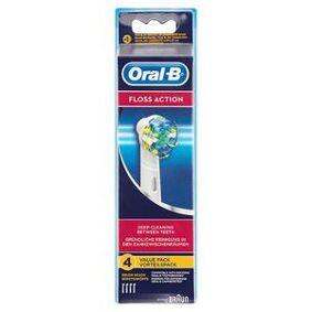 Oral-B Floss Action tannbørstehoder - 4 stk