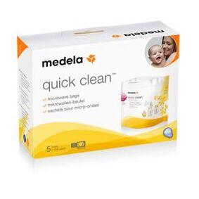 Medela Quick Clean mikrobølgeovnsposer - 5 stk