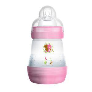 MAM Anti-kolikk tåteflaske 160 ml - rosa / lilla