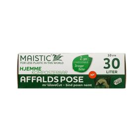 Maistic Bio Group Maistic komposterbare avfallsposer 30 L, wave cut - 10 stk.