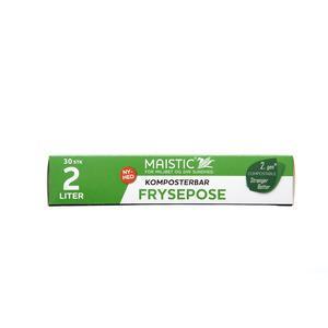 Maistic Bio Group Maistic Komposterbare fryseposer 2 L - 30 stk