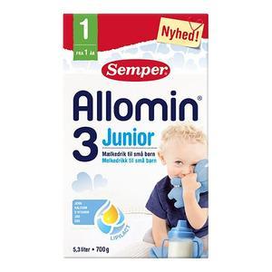 Semper Allomin 3 junior - tilskuddsblanding - fra 1 år - 700g