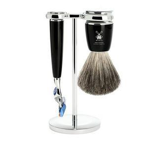 Mühle Shaving Mühle barbersett med Fusion-høvel, kost og holder