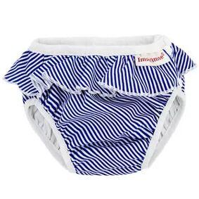 ImseVimse Badebleie fra ImseVimse – White/Blue stripes