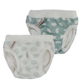 ImseVimse Training Pants fra ImseVimse, Bunny/Dandelion – 2-pakning