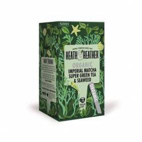 Heath & Heather Organic Imperial Matcha Green Tea Ø, 20 teposer