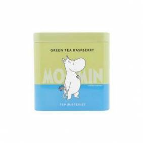 Teministeriet Moomin Green Tea Raspberry - 100 g