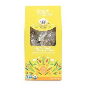 English Tea Shop Lemongrass, Citrus & Ginger fra English Tea Shop Ø – 15 teposer