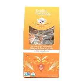 English Tea Shop Tumeric, Ginger & Lemongrass fra English Tea Shop – 15 teposer