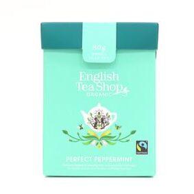 English Tea Shop Økologisk Perfect Peppermint fra English Tea Shop – 80 g