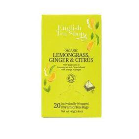 English Tea Shop Lemongrass, Citrus & Ginger fra English Tea Shop Ø – 20 teposer
