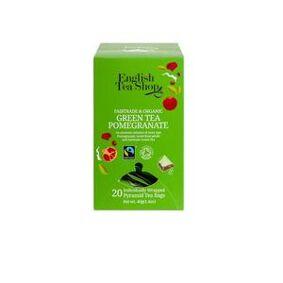 English Tea Shop Green Tea Pomegranate fra English Tea Shop Ø – 20 teposer