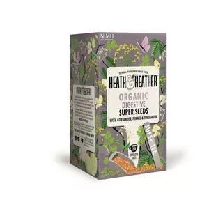 Heath & Heather Organic Super Seeds Ø, 20 teposer