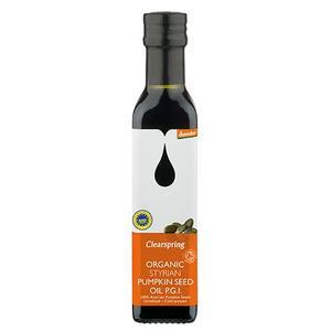 Clearspring Gresskarkjerneolje (ristet) - 250 ml