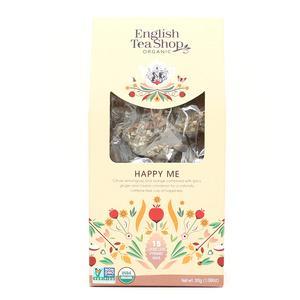 English Tea Shop Happy Me fra English Tea Shop Ø – 15 pyramideposer