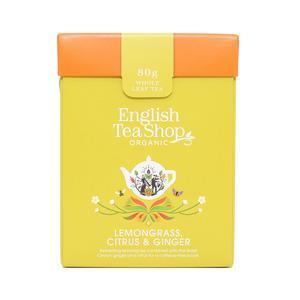 English Tea Shop Økologisk Lemongrass, Citrus & Ginger fra English Tea Shop – 80
