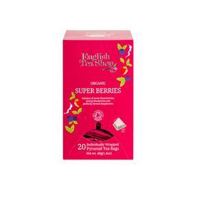 English Tea Shop Økologisk Super Berries fra English Tea Shop – 20 teposer