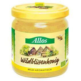 Allos Honning villblomst Ø - 500 g
