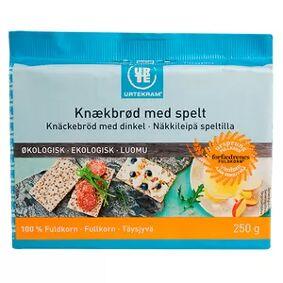 Urtekram Food Urtekram Fullkornsknekkebrød m. spelt Ø - 250 g