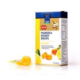 Manuka Health Sugetabletter Sitron - 65 g