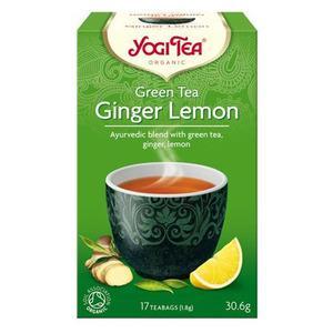 Yogi Tea - Green tea Ginger Lemon Økologisk te - 17 poser