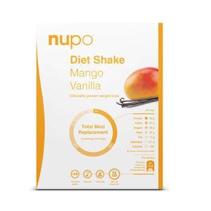 Nupo Mango Vanilla Shake - 384g