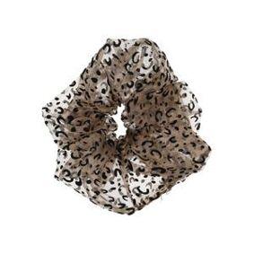 By Stær Naja Big Scrunchie - Leopard Brown