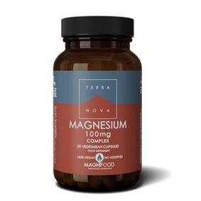 Terranova Magnesium Complex, 100 mg - 50 kapsler
