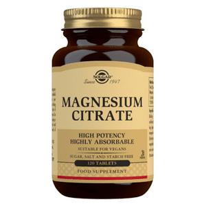 Solgar Magnesium citrat 200 mg - 120 tabl