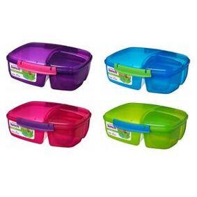 Sistema matboks Triple Split Lunch Box with Youghurt pot 2 L