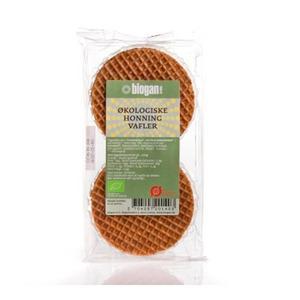 Biogan Vafler honning Ø - 175 g