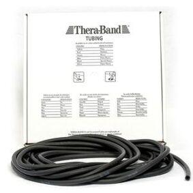 Thera-Band Theraband Tubing - Rundt treningsstrikk 7,5 m - svart - Hardhet