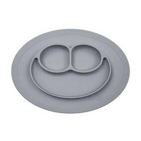 EZPZ Mini Mat - sklisikker tallerken - grå