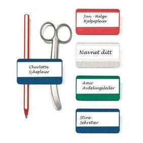 Pennholder med navnskilt - Penfix