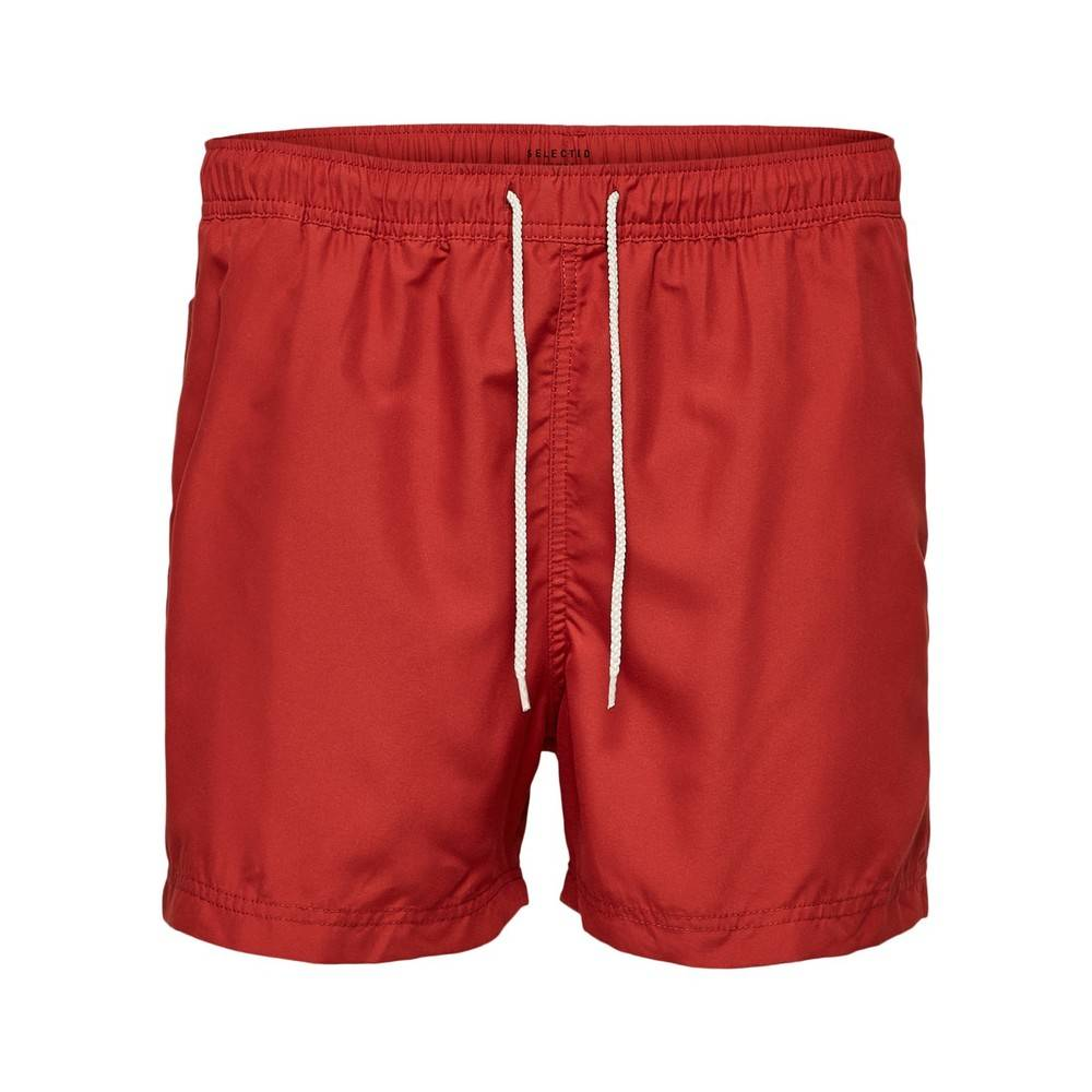 Selected Homme Rød Selected Homme Classic Colour Swim Shorts