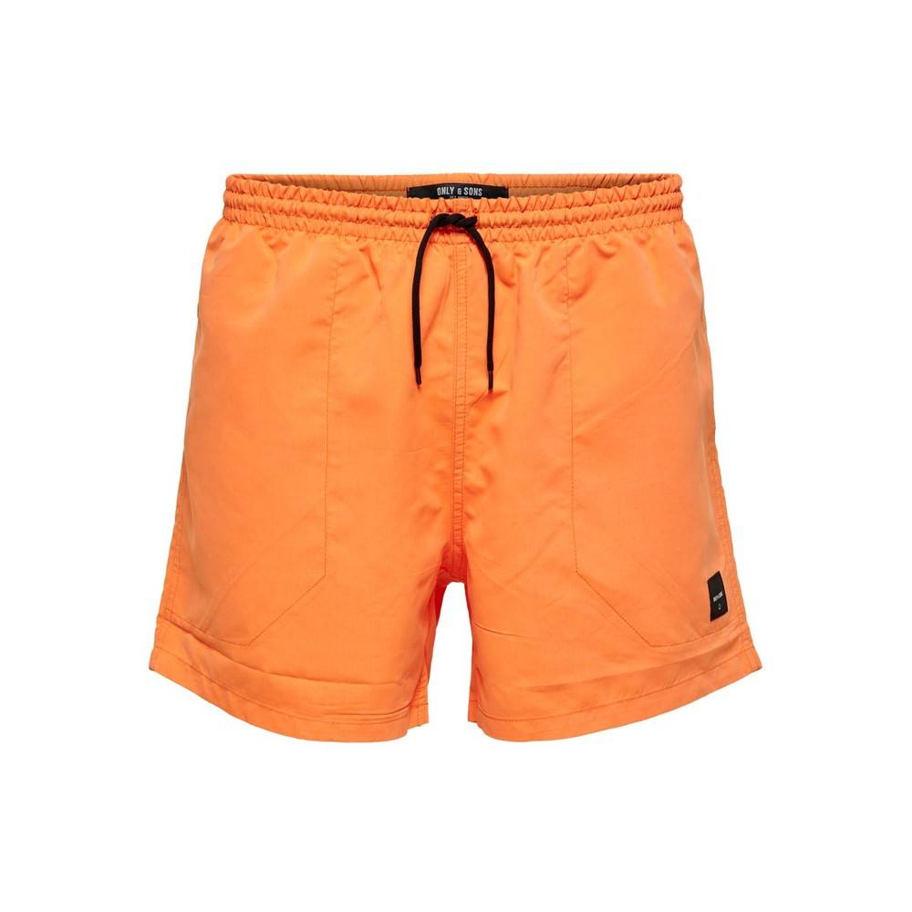 Only & Sons Oransje Only & Sons badeshorts