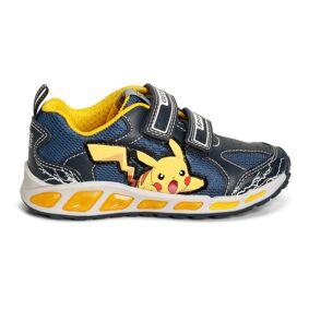 Geox Blå/Gul Geox J Shuttle Sneakers, BN 328