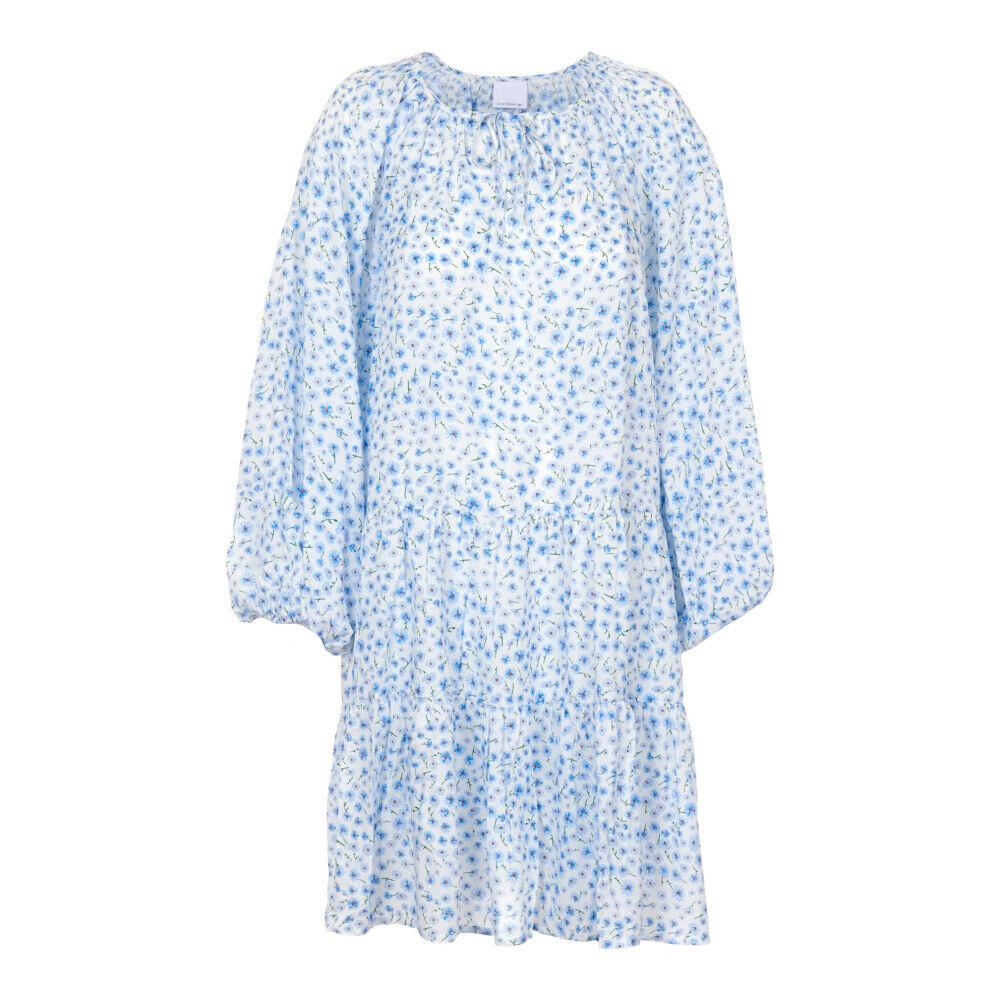 Ane Mone Småblomstret kappe kjole