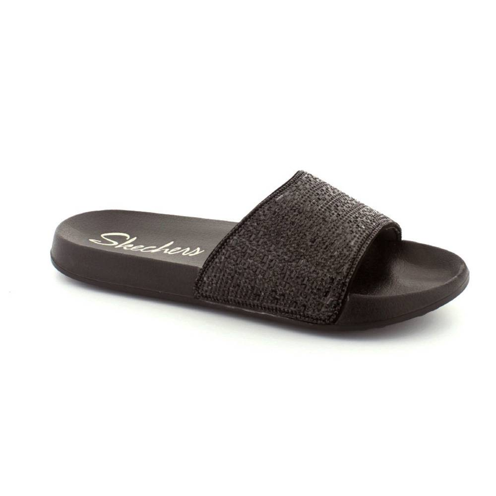 Skechers klip klapper, (Sort)
