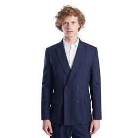 L'Exception Paris Double Breasted Suit Jacket Vitale Barberis
