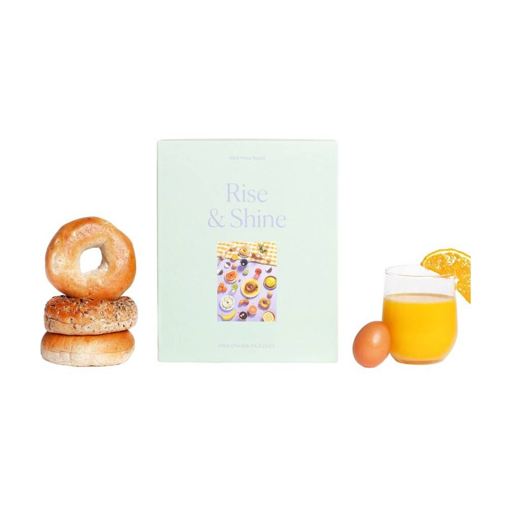 Piecework Puzzles Rise And Shine Puzzle